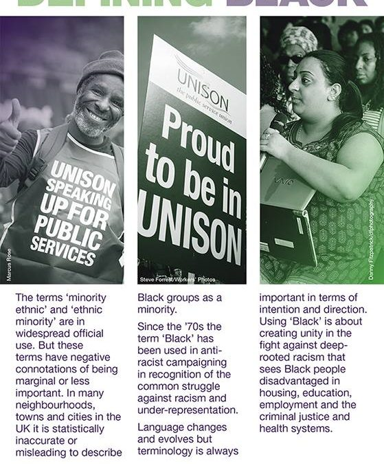 UWE Unison Black Members May update