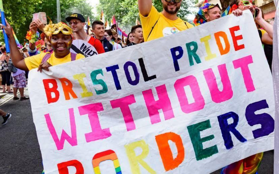 Pride without Borders event today!